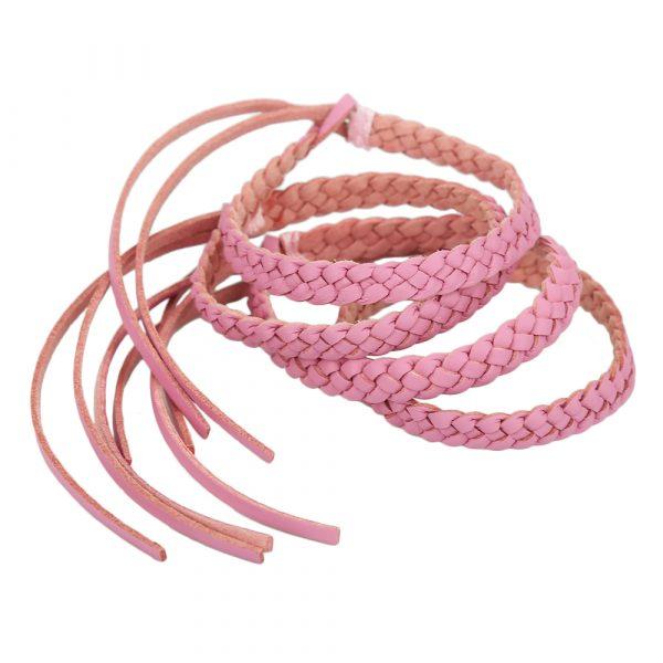 Original Kinven Mosquito Bug Repellent Faux Leather Bracelet Bands – DEET Free – Stylish Braiding