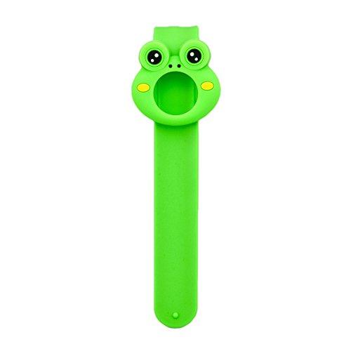 Kinven Waterproof Mosquito Repellent Click Slap Bracelet – Frog